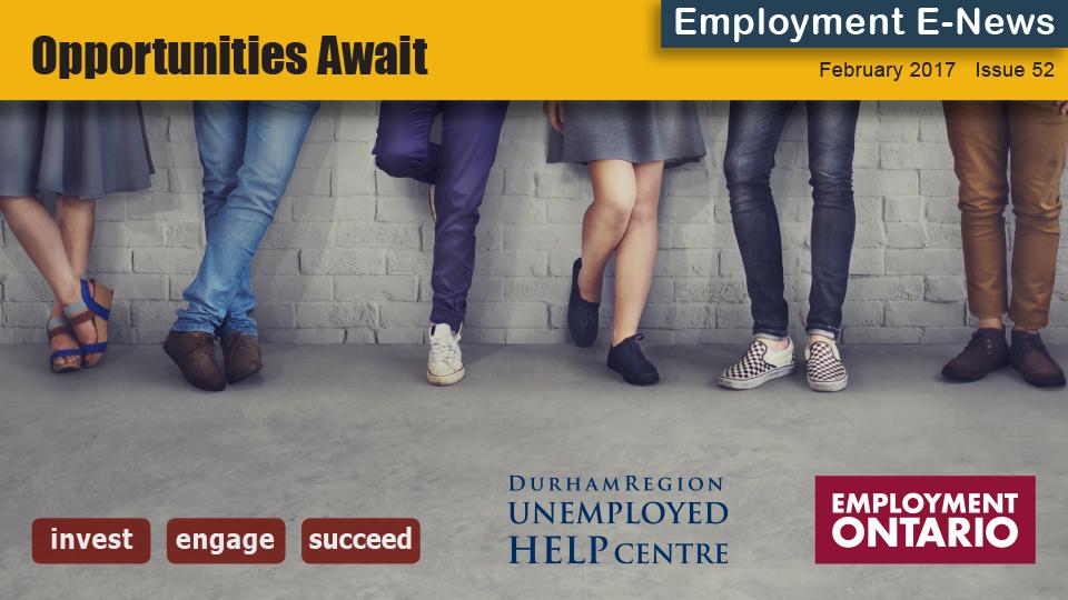 durham region unemployed help centre  u2013 employment e